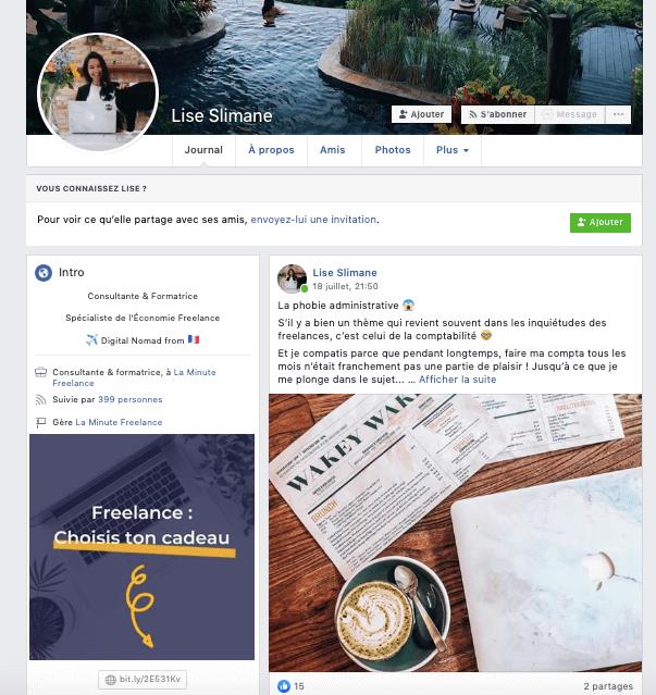 Utiliser facebook pour trouver des clients